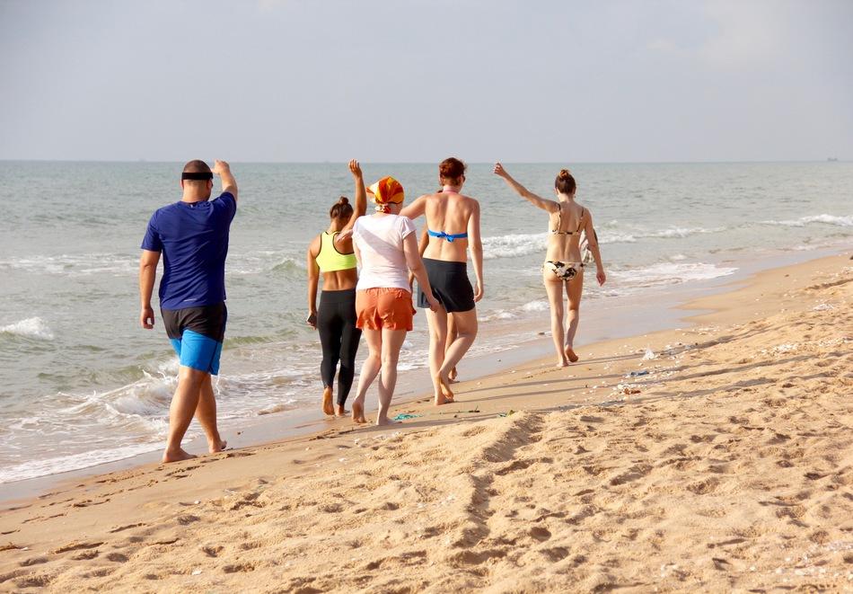 Пляжный или активный отдых? Slim People!